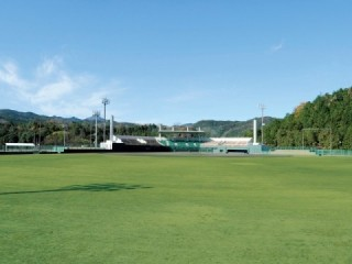 Forest Sports Park baseball field of Heisei, Usa-shi Reiwa