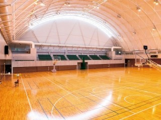 Usa-shi synthesis gymnasium (Sanwa Shurui sports center)